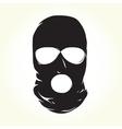 Terrorist mask vector image