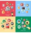 Bank Services Concept vector image