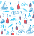 marine wallpaper vector image