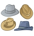 Fedora hats vector