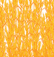 Wheat summer background vector image