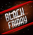 black friday sale blurry confetti background vector image