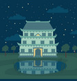 pagoda traditional japanese chinese asian vector image