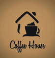 Coffee house icon vector image