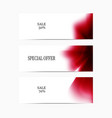 special-offer-red vector image
