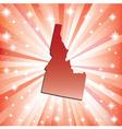 Red Idaho vector image