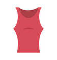 women sports blouse icon vector image