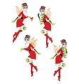 Christmas Elf Girl2 vector image