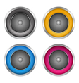 Soundspeakers vector image