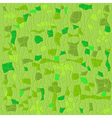 Green seamless checkered pattern vector image vector image