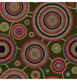 Abstract Seamless Ethnic Knitted Pattern vector image