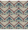 Tribal colored pattern 1 vector image