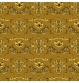 Arabic damask pattern vector image