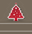 christmas background layout vector image vector image