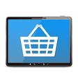 E-Commerce Internet Store vector image
