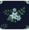 Flower frame background vector image