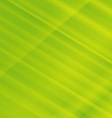 Green striped abstract background vector image