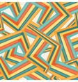 Bright abstract seamless geometric pattern vector image