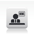 news icon vector image vector image