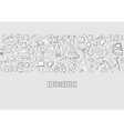 Education Objects background drawing by hand vector image