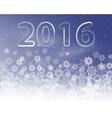 Snowflake background holiday backdrop vector image