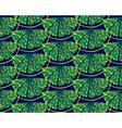 Blue lemon pattern vector image