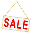 sign sale 01 vector image vector image