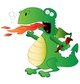 Jalapeno the Dragon vector image