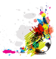 abstract art design vector image