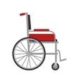 wheelchair medical equipment vector image