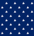 sailboat on blue background seamless pattern vector image