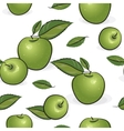 green apples vector image vector image