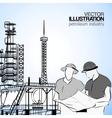 Industrial engineers vector image