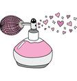 Love perfume vector image