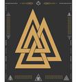 Set of geometric hipster shapes 9znkl72211de BLACK vector image