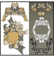 frames from pattern for design vector image