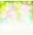 spring bokeh background vector image vector image