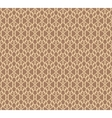 Beige Forged Seamless Pattern on brown background vector image vector image