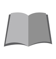 Isolated book icon vector image