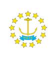 Rhode Island vector image