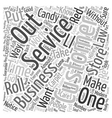 The Unbeatable Laws Of Customer Service text vector image