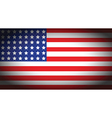 usa faded flag vector image vector image