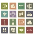 Cruise simply icons vector image