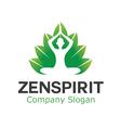 Zen Spa Spirit Design vector image