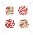 Christmas Lollipops Set2 vector image