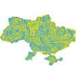 ukraine pattern1 vector image