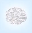 Cloud Paper vector image