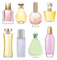 fragrance icons vector image