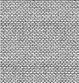 Seamless Pattern of Garter Stitch vector image