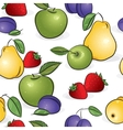 sweet fruits vector image
